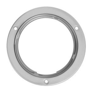 Stainless Steel Flange Mount Bezel for 4″ Round Light