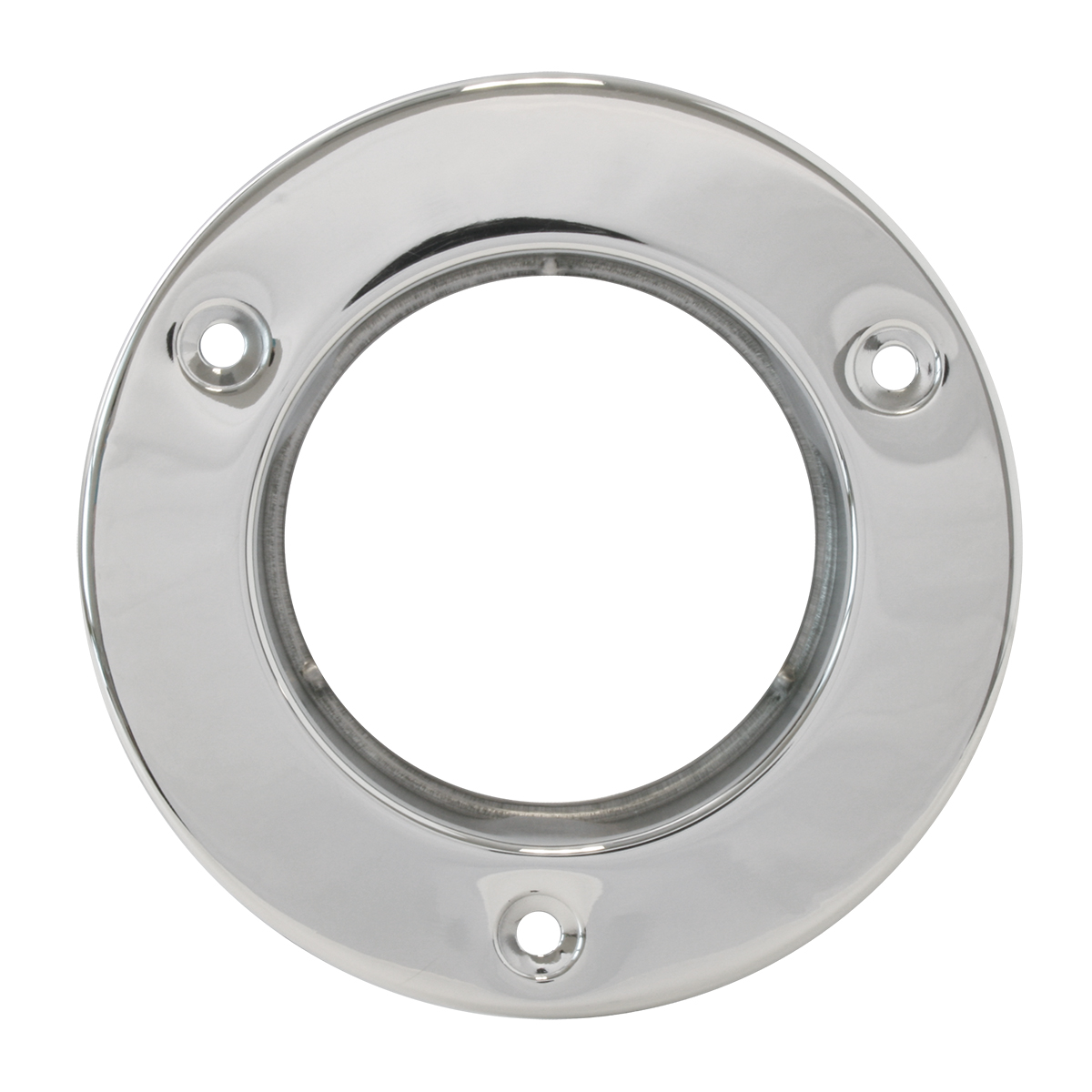 "87148 Stainless Steel Flange Mount Bezel for 2-1/2"" Round Light"