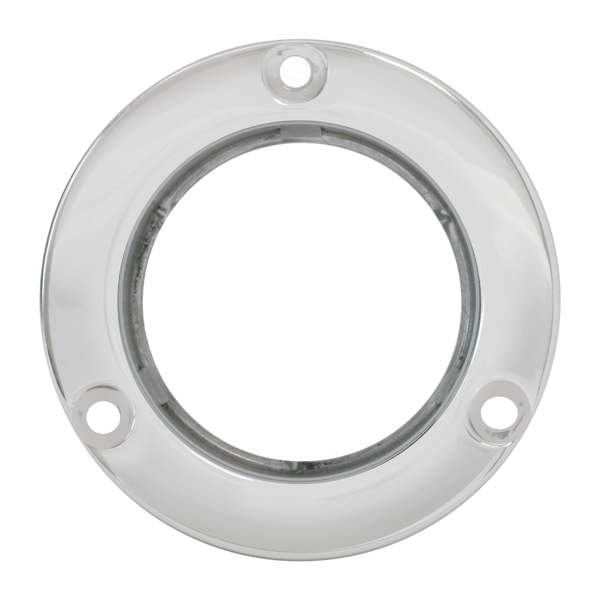 "87149 Stainless Steel Flange Mount Bezel for 2"" Round Light"