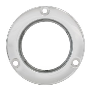 Stainless Steel Flange Mount Bezel for 2″ Round Light