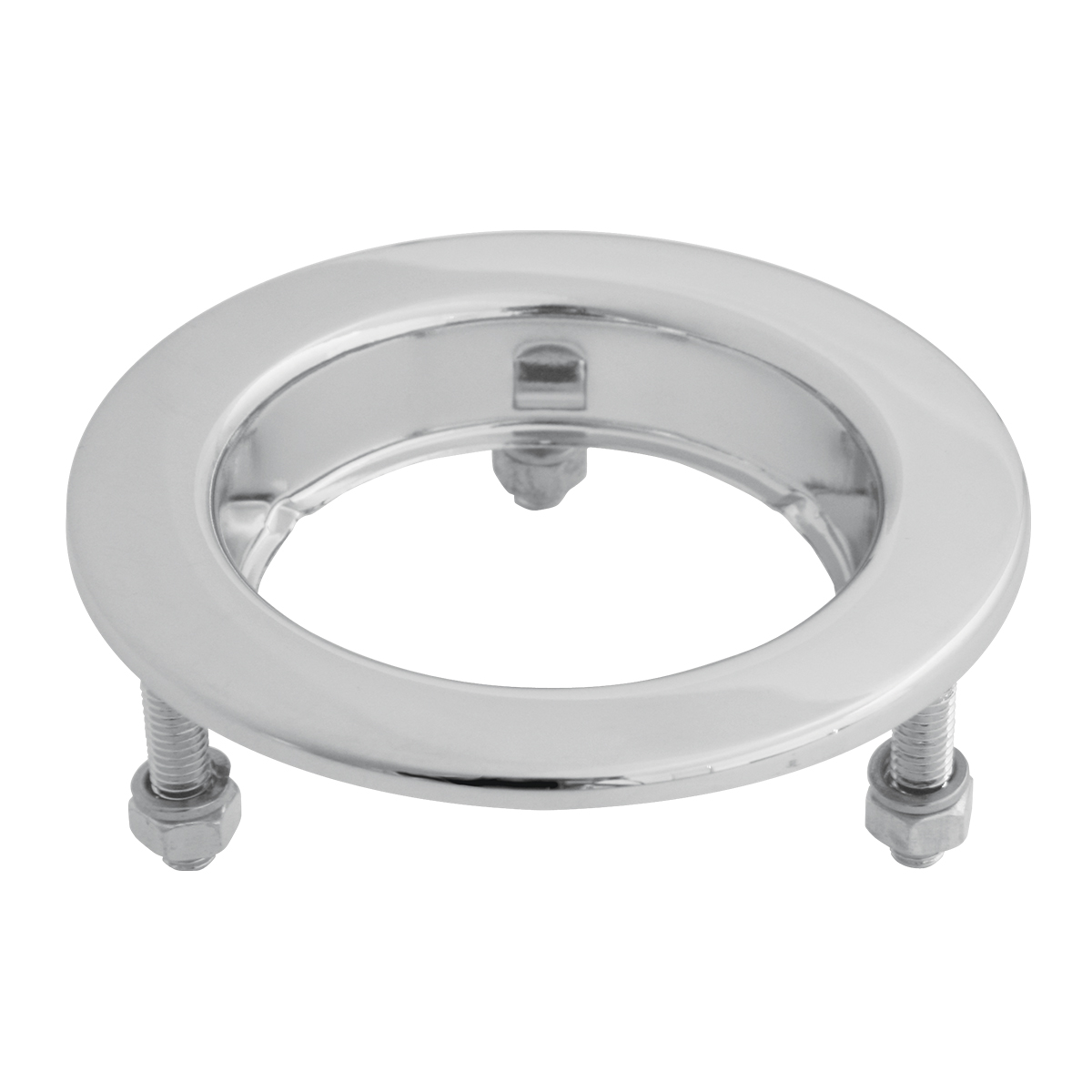"Flange Mount Bezel with Hidden Studs for 2"" Round Light"