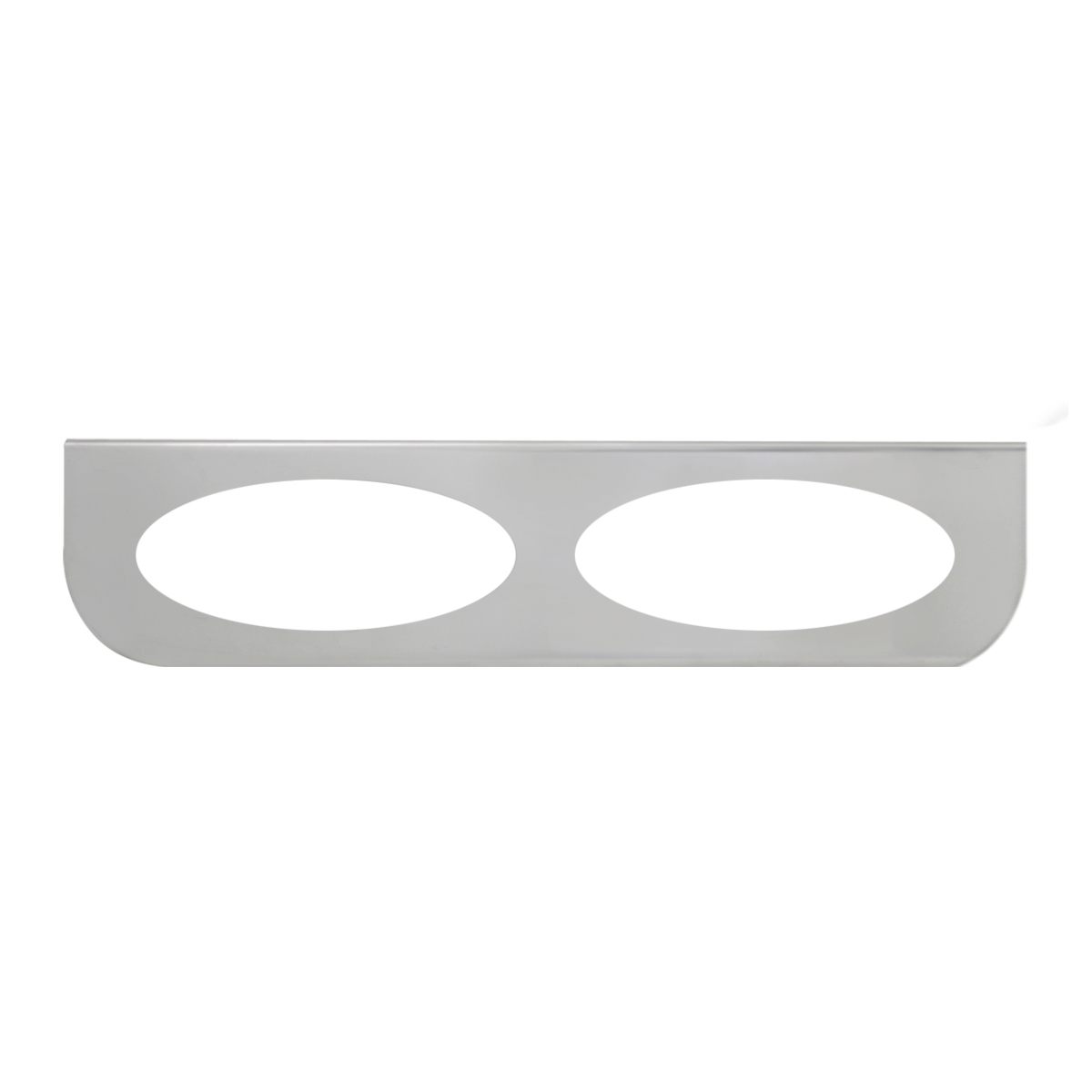 "#89049 Double Stainless Steel ""L"" Shape Light Bracket Only"
