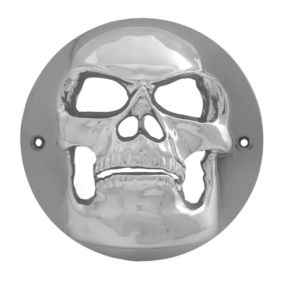 1 Pack Grand General 90090 Light Clear Plastic 4 Skull Bezel Cover for 4 //Grommet