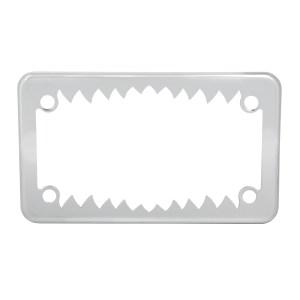 Motorcycle Shark Teeth License Plate Frame