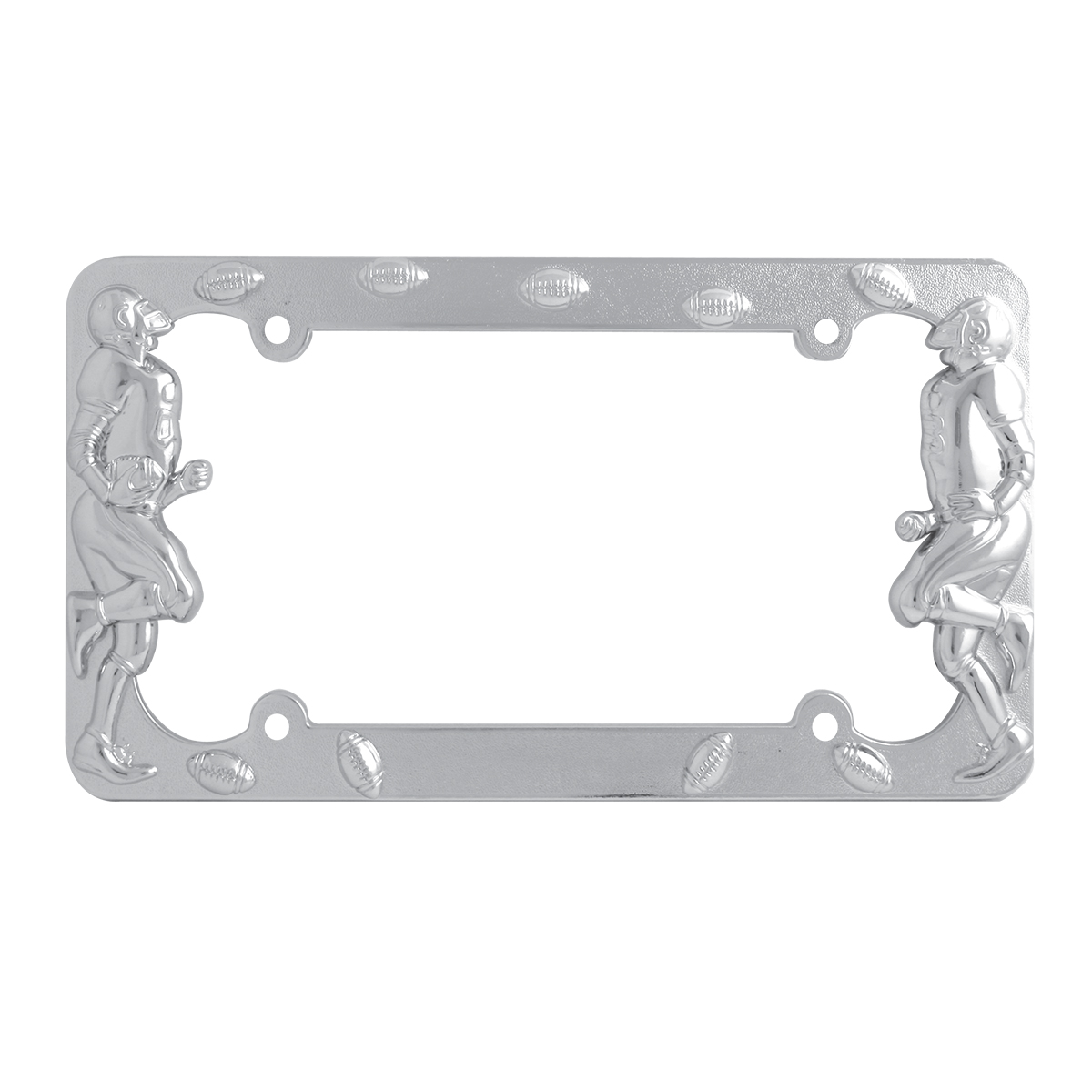 60460 Football Player License Plate Frame