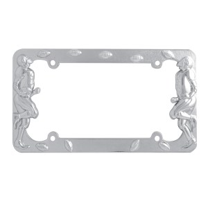 Football Player License Plate Frame