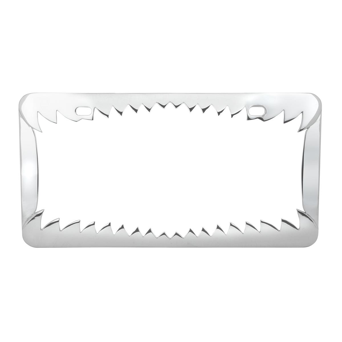 60461 Shark Teeth License Plate Frame