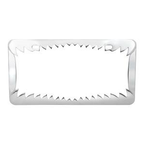 Shark Teeth License Plate Frame