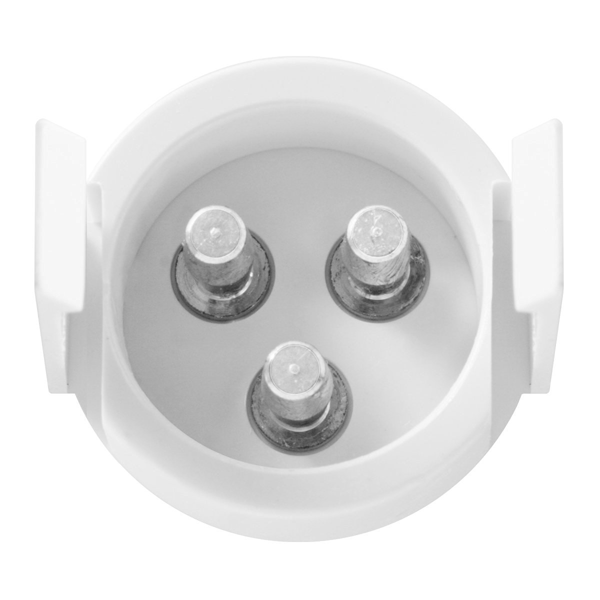 Back of the Light View, 3-Prong Round Plug