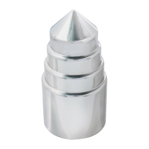 Tower Chrome Plastic Lug Nut Cover