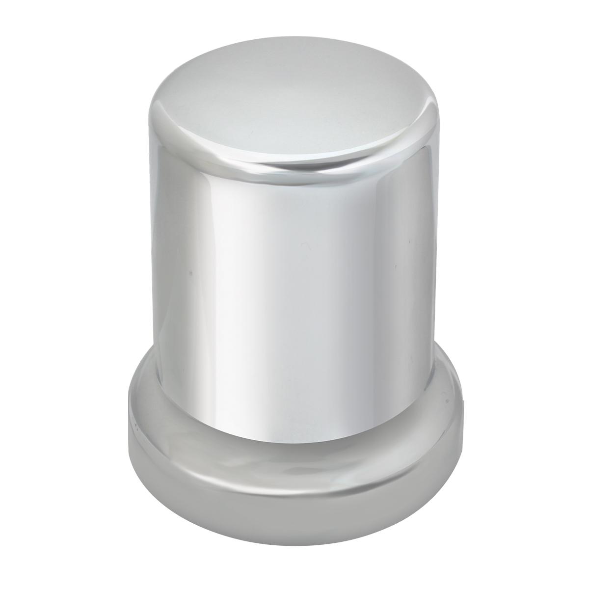 "Tube Chrome Plastic Lug Nut Cover 2-1/2"""