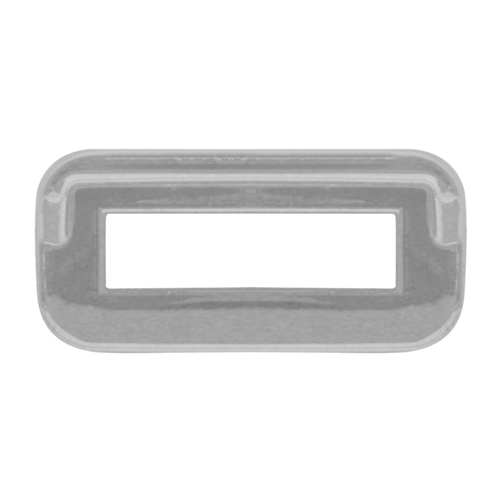 Switch Label Bezel W Visor For Peterbilt 2000 Amp Earlier