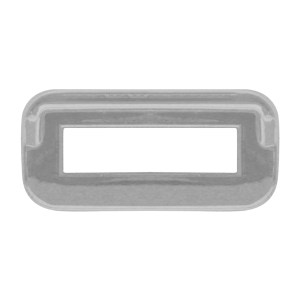 Switch Label Bezel w/ Visor for Peterbilt 2000 & Earlier