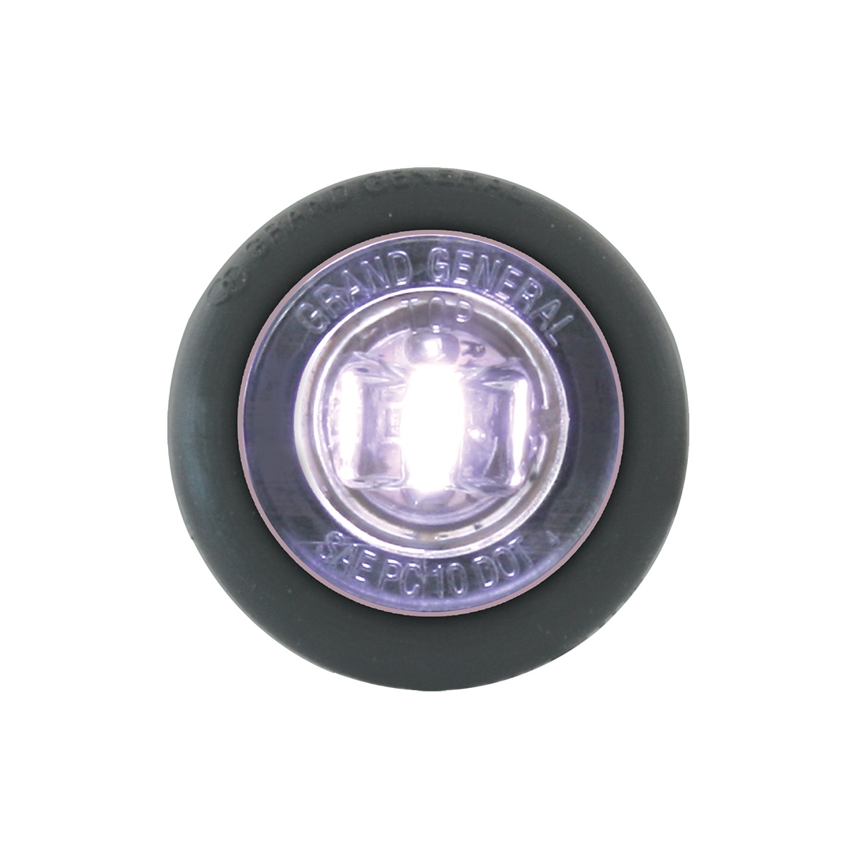 """75294 1"""" Dual Function Mini Push/Screw-in Wide Angle LED Light w/ Grommet"""