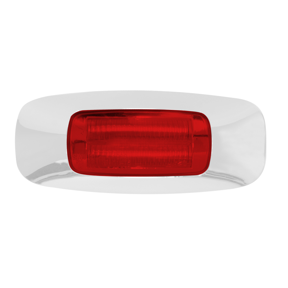 "74722 3-1/2"" Dual Function Rectangular Prime LED Marker Light"