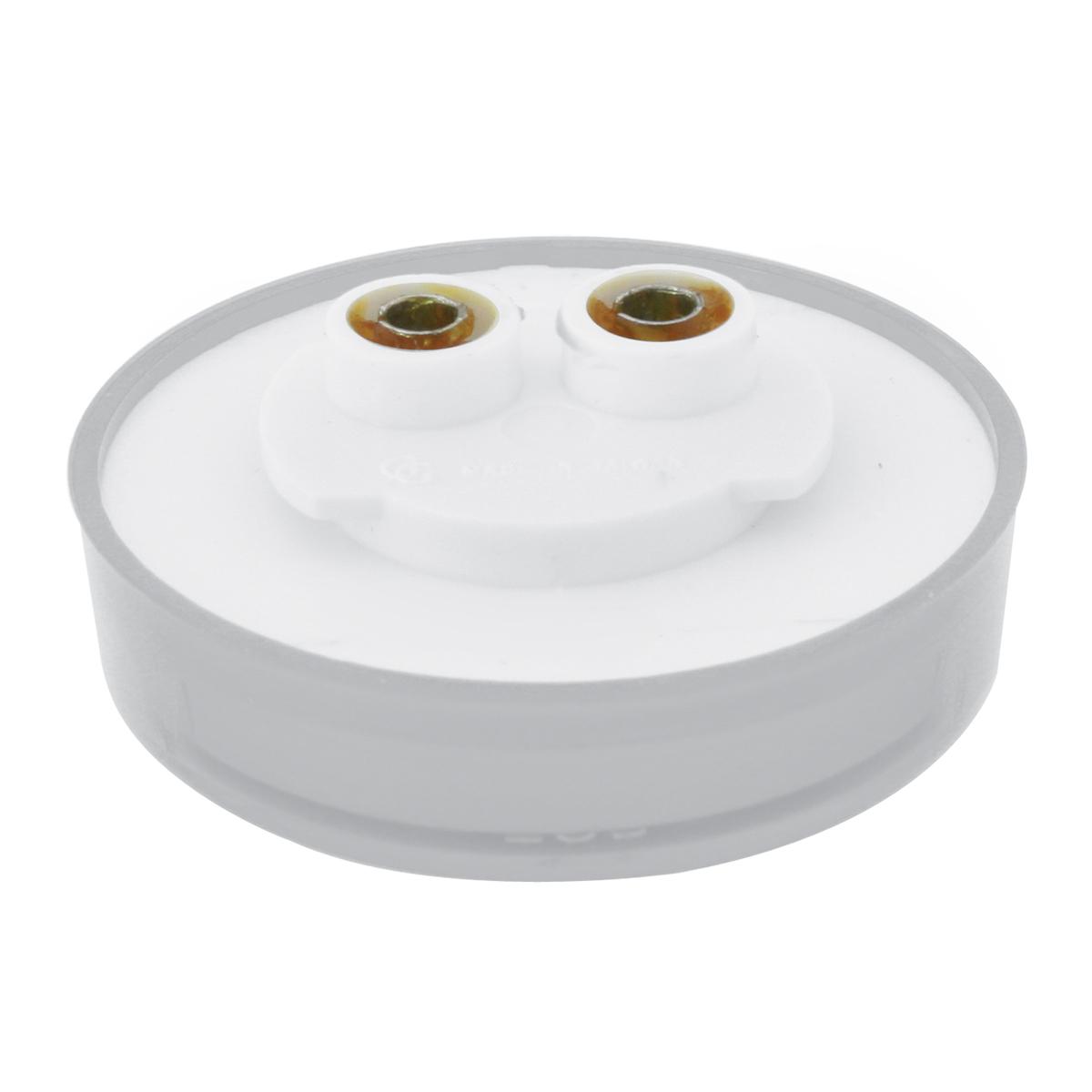 "2-1/2"" Pearl LED Marker Light in Clear Lens"