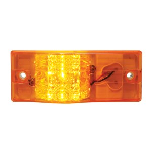 Rectangular Side Mount Spyder LED Turn/Marker Light