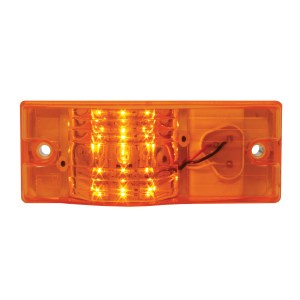 Rectangular Side Mount LED Marker & Turn Light