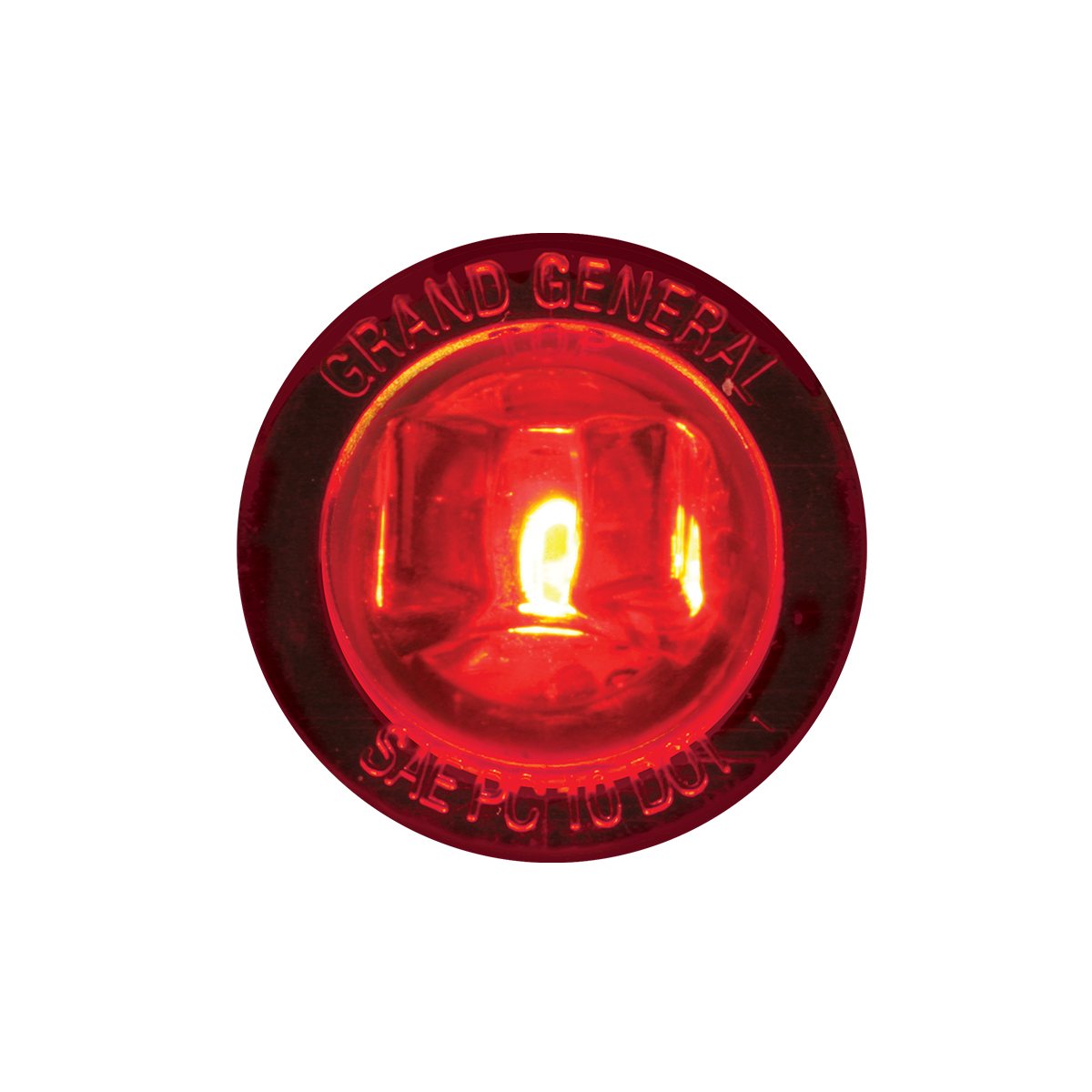 """75212 1-1/4"""" Dia. Dual Function LED Light with Nut"""