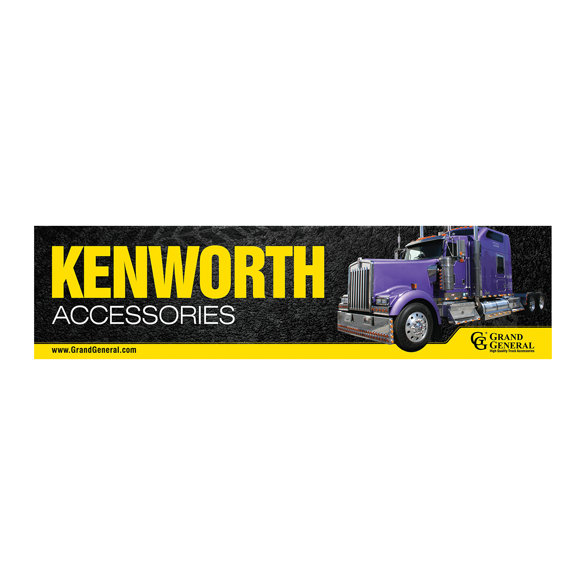 Kenworth Accessories Display Sign
