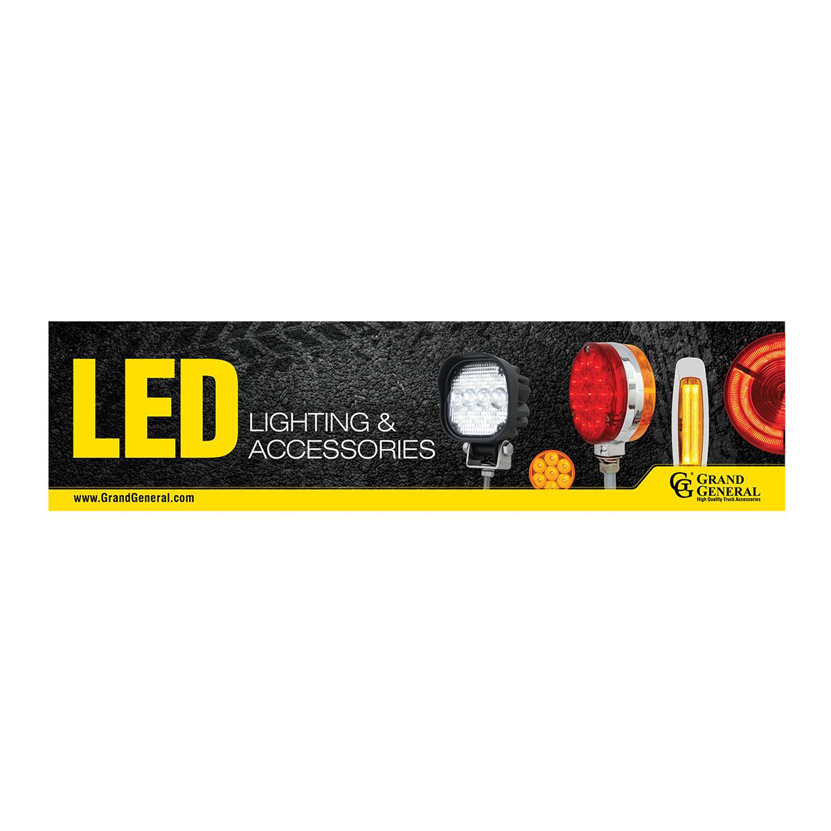 LED Display Sign 4'(W) x 1'(H)