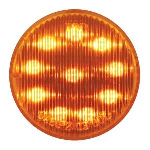 24V 2″ Round Fleet LED Marker Light