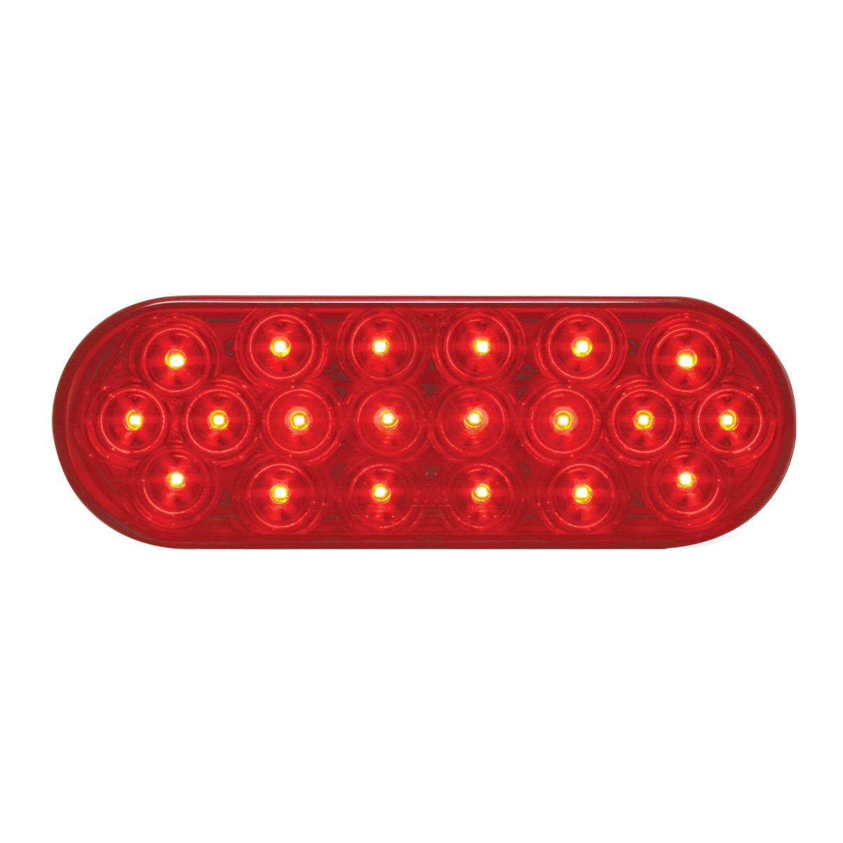 75081 24V Oval Fleet LED Light