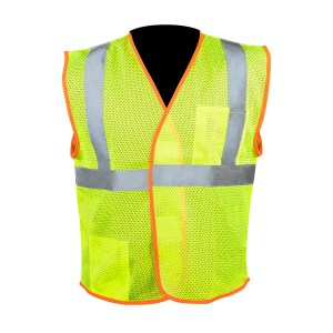 High Visibility Class 2 Safety Vest with Hook & Loop
