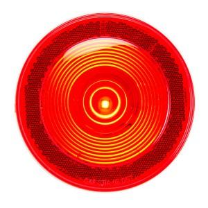4″ Single LED w/Reflective Ring Lens