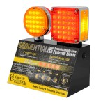 Smart Dynamic Double Face Pedestal LED Light Display