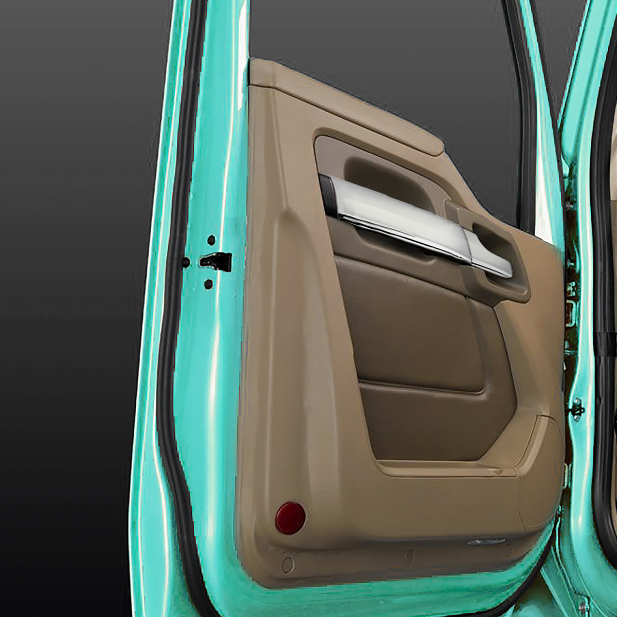 P//S GG Grand General 67941 Chrome Plastic Inside Door Panel Trim for KW T680 15+