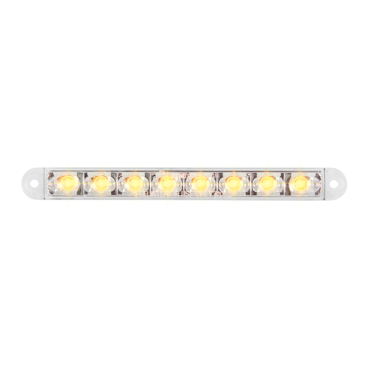 "74761 6.5"" Flush Mount Pearl Marker & Turn LED Light Bar"
