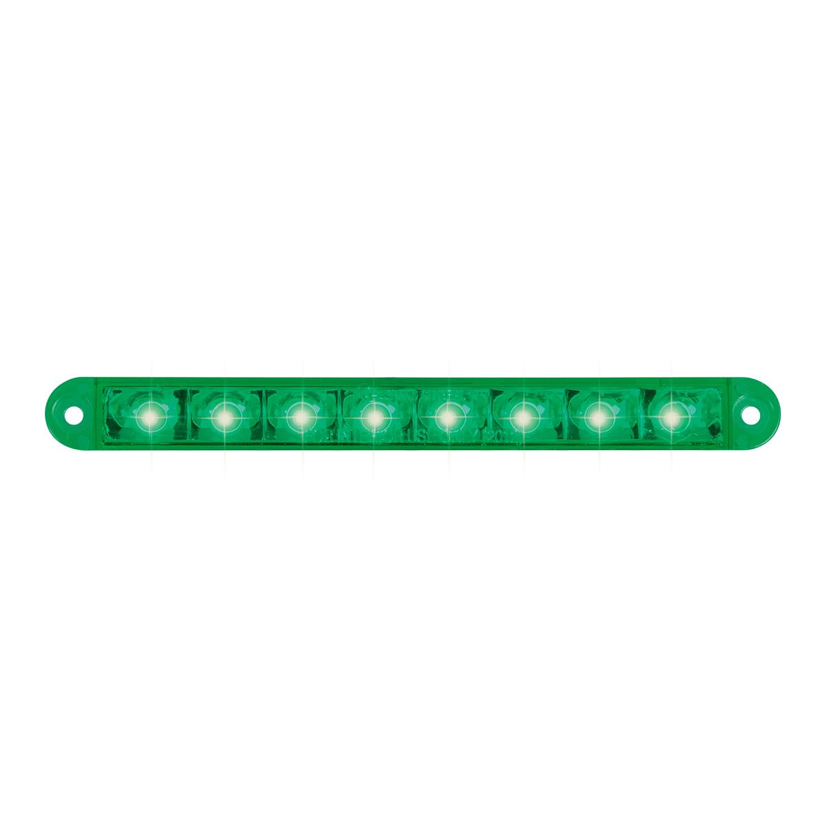 """74767 6.5"""" Flush Mount Pearl Marker & Turn LED Light Bar"""