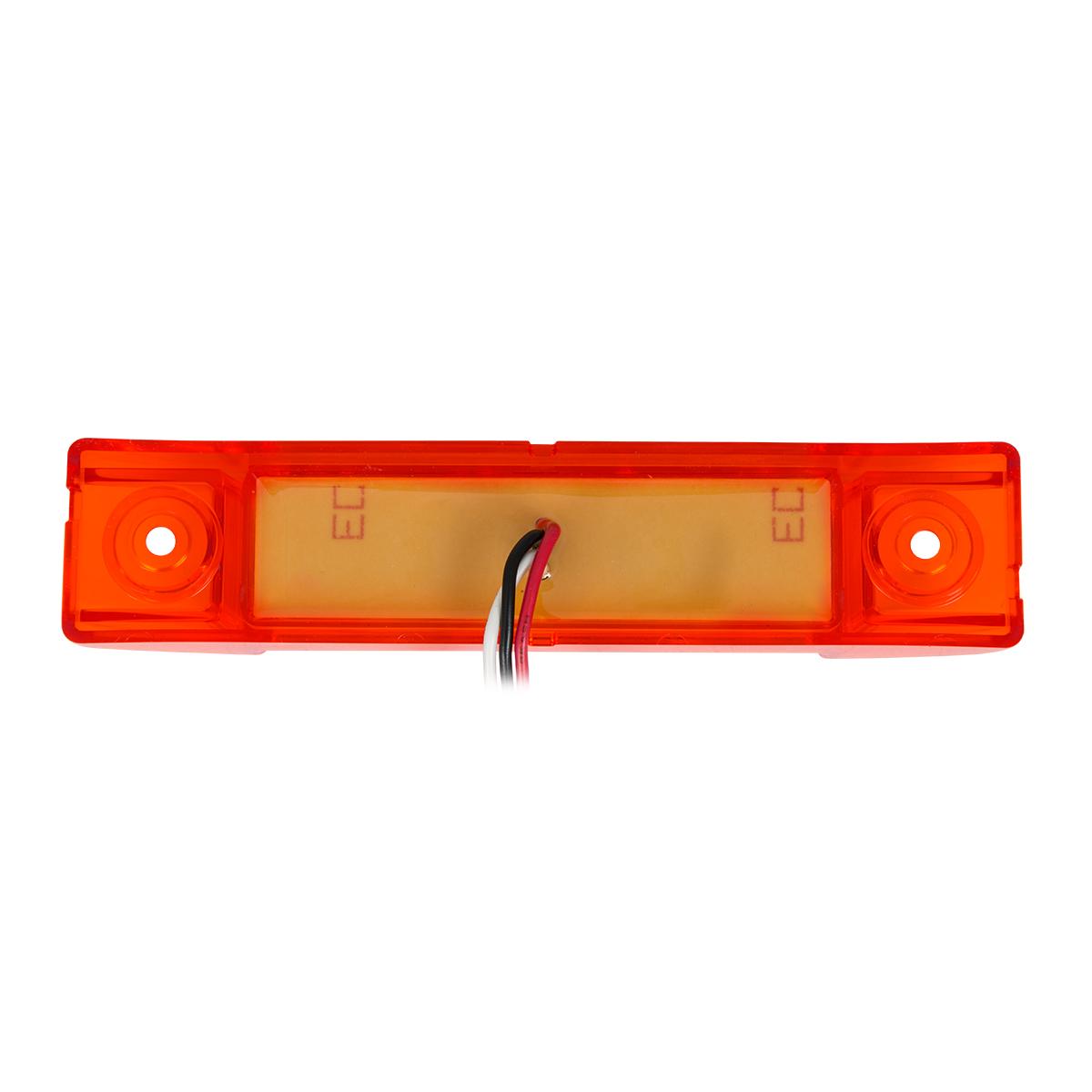 """75187 6"""" Rectangular Surface Mount Pearl Marker & Turn LED Light"""