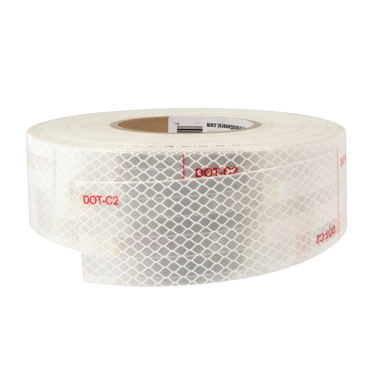 92298 Premium Hi Viz DOT-C2 Conspicuity Tape in White 150′ Roll