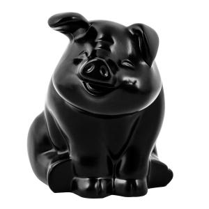 Smiling Pig Hood Ornament