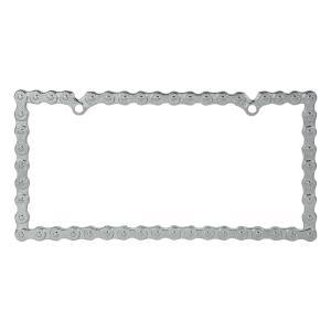 Bike Chain License Plate Frame