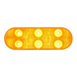 Oval Highway 6 LED Light