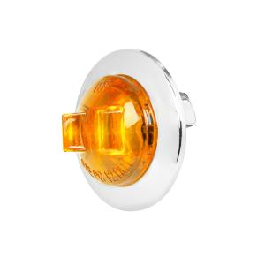 3/4″ Dia. Mini Wide Angle LED Sealed Light with Chrome Plastic Bezel