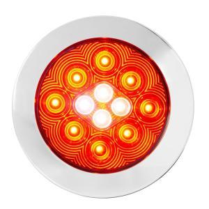 4″ Flange Mount Combo LED Light with Twist-On Bezel Fleet Series