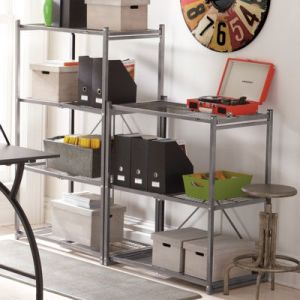 Collapsible Shelving   Grandin Road Three level Collapsible Shelf