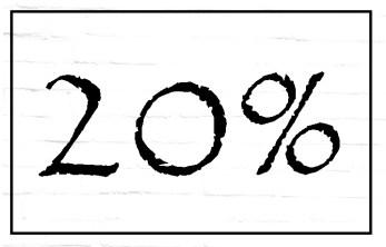 20% de la population est sujet à l'hypersensibilité