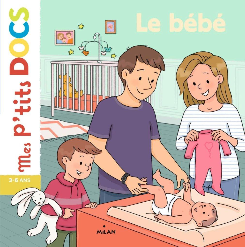Les livres pour préparer l'aîné à l'arrivée d'un bébé : mes p'tits docs - le bébé.