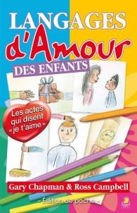 """Livre """"langages d'amour des enfants"""" par Gary Chapmann et Ross Campbell."""