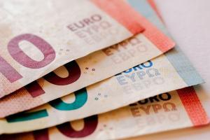 Des billets de banques en euro