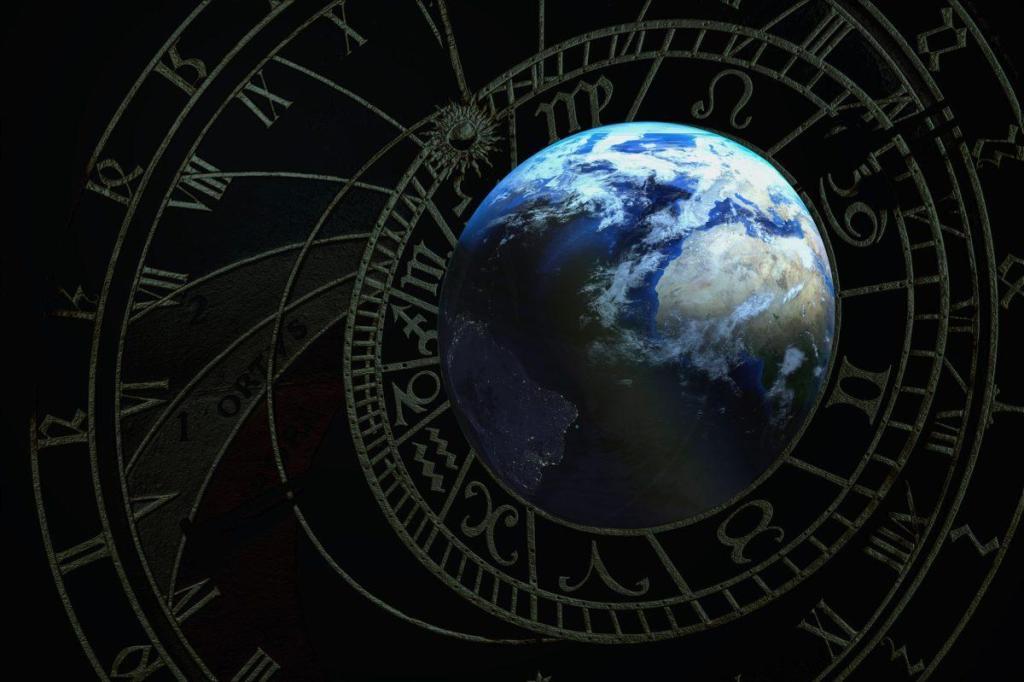 Notre planète dans l'espace