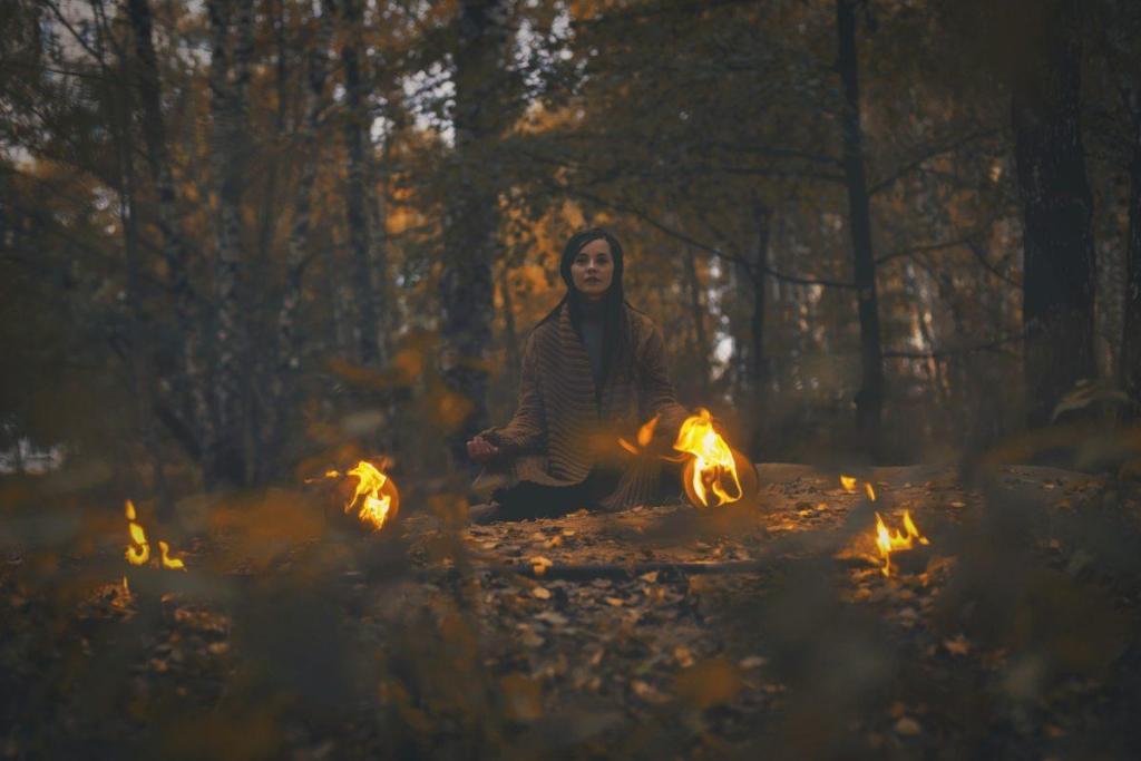 Un chaman dans les bois