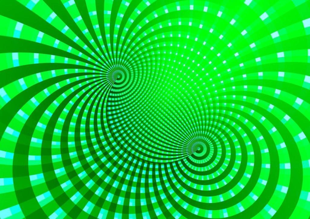 Un dessin représentant le magnétisme humain