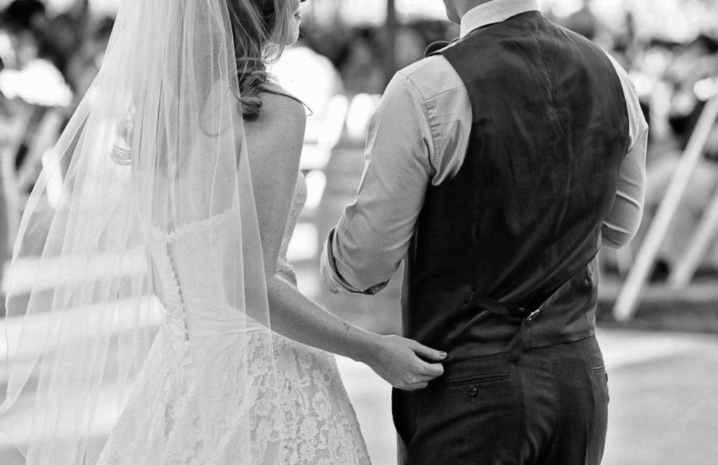 Un couple qui se marie