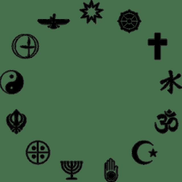 Les symboles des religions